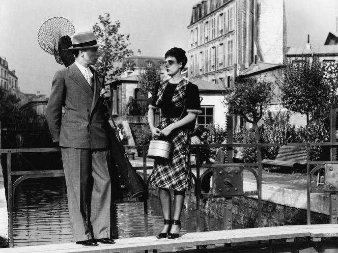 Louis Jouvet et Arletty dans «Hôtel Du Nord»(1938); réalisé par Marcel Carné.