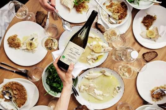 Lerestaurant Passerini, à Paris.«Les clients font leur assiette. Cela permet de désacraliser les plats », explique le chef Giovanni Passerini.