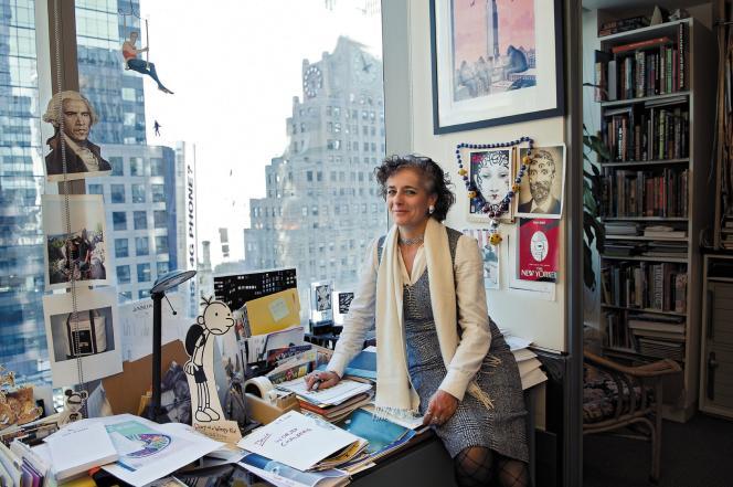 La directrice artistique du « New Yorker », Françoise Mouly.