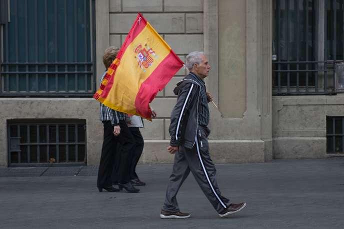 A Barcelone, le 12 octobre.