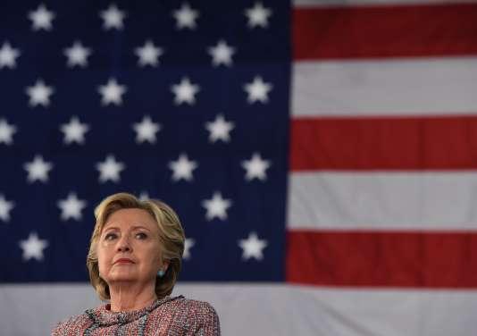 Hillary Clinton à Miami, le 11 octobre 2016.