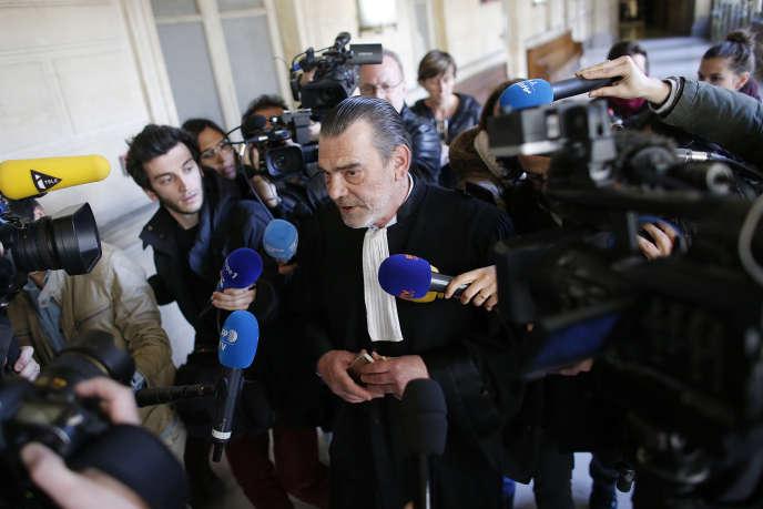 L'ancien avocat de Salah AbdeslamFrank Berton, en avril, à Paris.