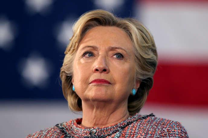 Hillary Clinton lors d'un meeting à Miami le 11 octobre.