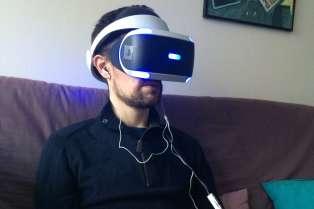 Le PlayStation VR.