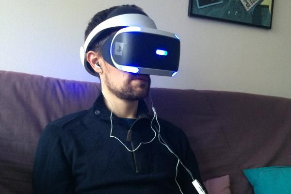 Le PlayStation VR.