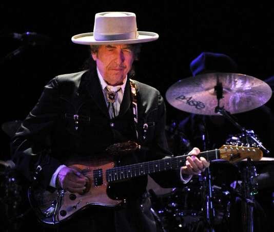Bob Dylan en avril 2011 durant le festival Bluesfest de Byron Bay, en Australie.
