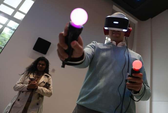 Une vingtaine de jeux sont disponibles pour le PlayStation VR.