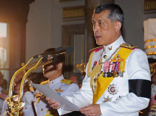 Le futur roi de Thaïlande, Maha Vajiralongkorn, en août 2011.