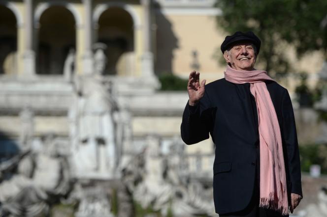 Dario Fo, en juin 2016.