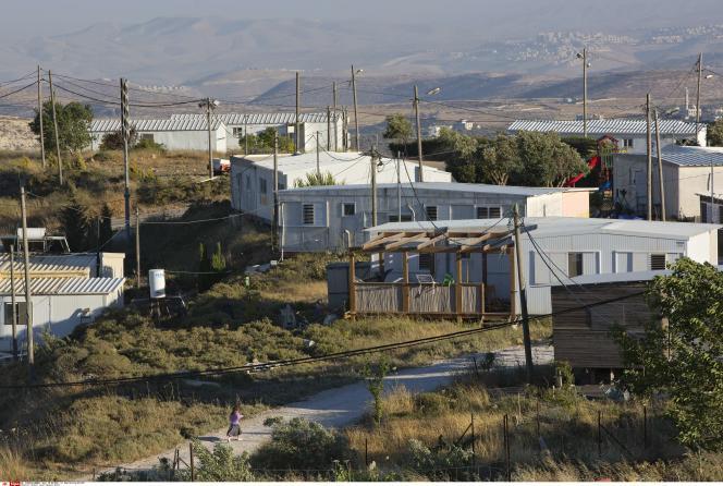 Avec ses 300 habitants, Amona est le plus grand des cent avant-postes établis par des Israéliens en Cisjordanie.
