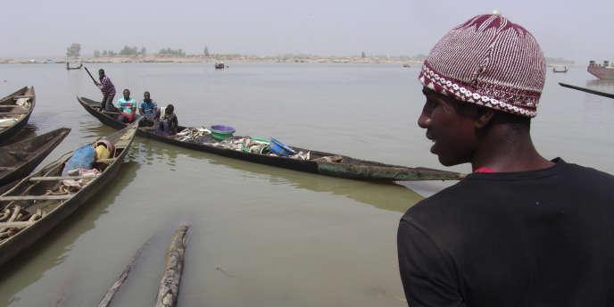 Dans la région de Mopti, sur le fleuve Niger, dans le centre du Mali.