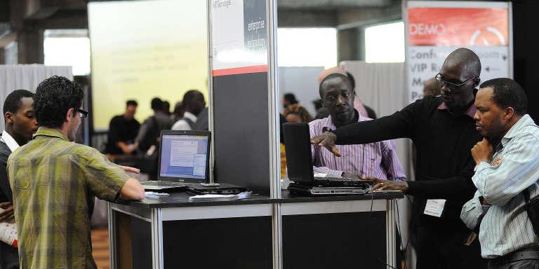 A Nairobi, en 2012, lors de la conférence DEMO Afrika, rendez-vous de l'innovation entrepreunariale.
