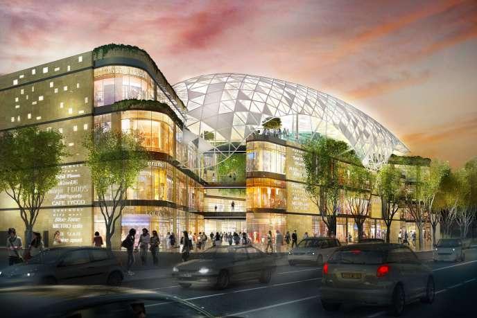 Le centre commercial Prado-Vélodrome comptera 50 enseignes.