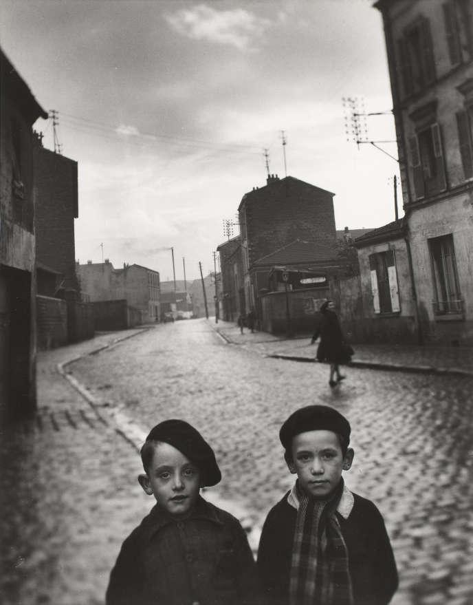 « Aubervilliers, France» (1947), de Louis Stettner.