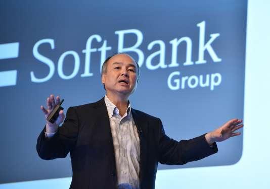 Le milliardaire japonais Masayoshi Son le 28 juillet à Tokyo.