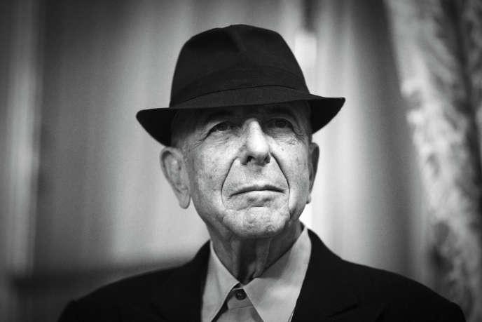 Leonard Cohen le 16 janvier 2012 à Paris.