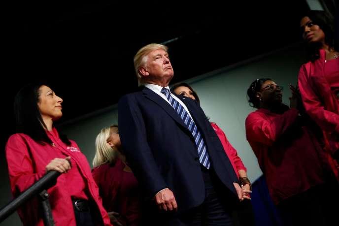 Donald Trump en meeting à Charlotte (Caroline du nord), le 14 octobre.
