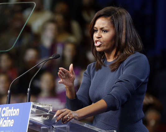 A Phoenix, l'offensive démocrate passera par un meeting de Michelle Obama, jeudi 20octobre,suivi des visites de Chelsea Clinton et de Bernie Sanders.