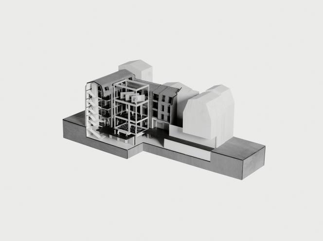 Réaménagé par Rem Koolhaas, le bâtiment qui accueillera la Fondation d'entreprise Galeries Lafayette ouvrira ses portes en 2017.
