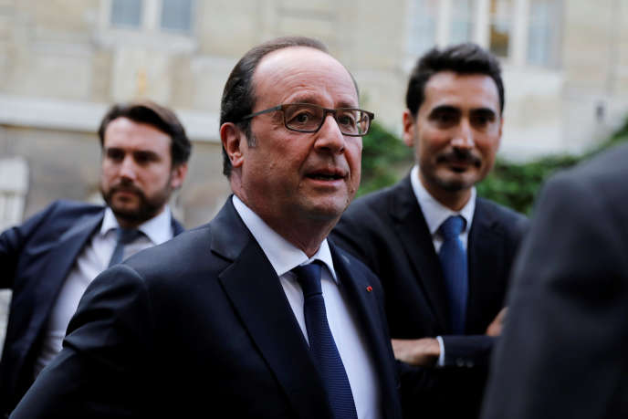 Francois Hollande, à Paris, le 15 octobre.