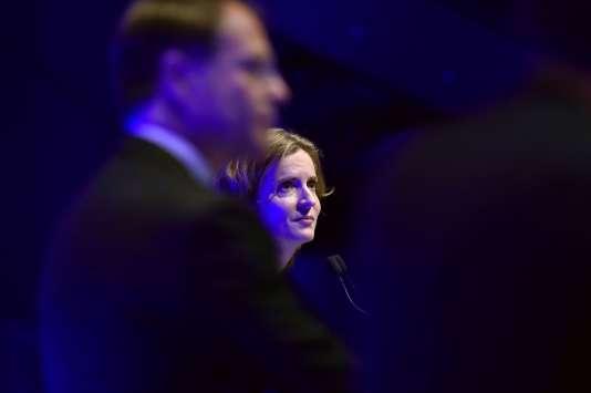 Nathalie Kosciusko-Morizet lors du salon «Planète PME» à Paris, le 17octobre.