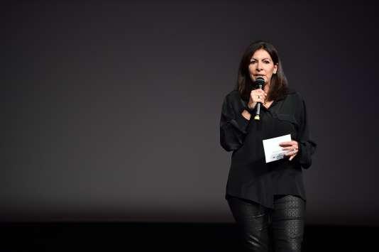 Anne Hidalgo, le 17 octobre, à Paris.