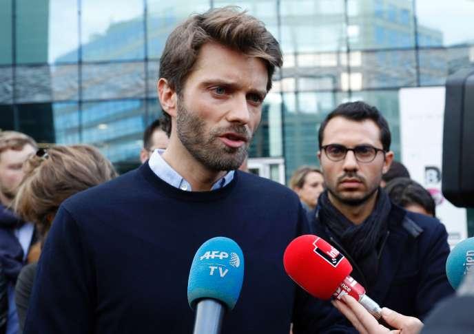 Antoine Genton, le président de la Société des journalistesd'iTélé.