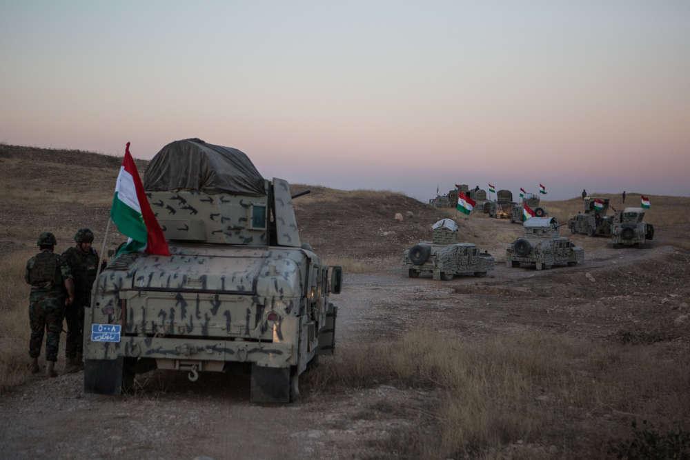 L'opération militaire devrait dans un premier temps consister à traverser les lignes djihadistes pour gagner les abords de la ville.