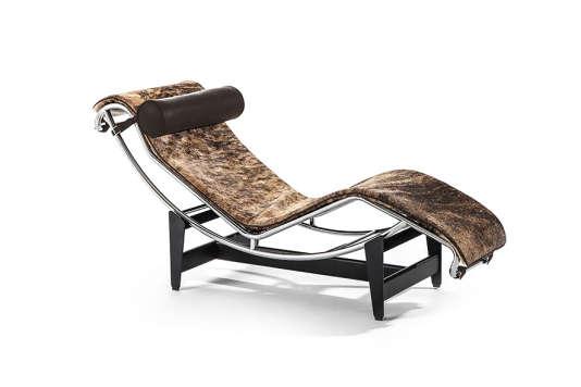 Chaise longue LC4 Pampas, de Le Corbusier, Pierre Jeanneret et Charlotte Perriand.