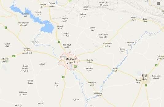 Mossoul et sa région
