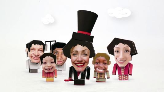 """Métier : président. Une image de la série """"Mon job de rêve"""" développée par ToonYou."""
