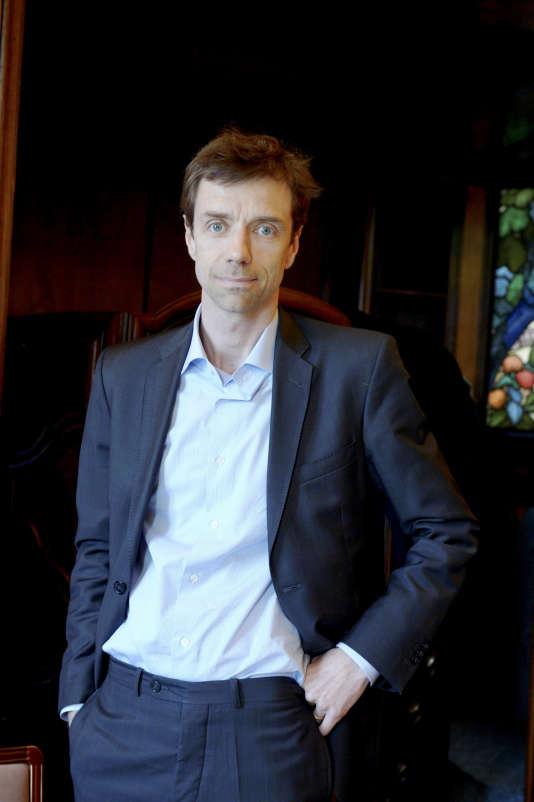 Guillaume Dubois, directeur général de BFM-TV, en 2014.