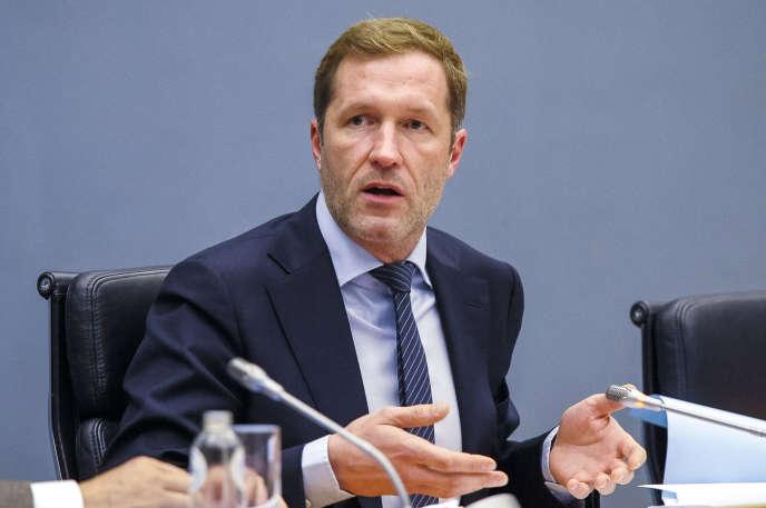 Le ministre-président de la Wallonie, le socialiste Paul Magnette.