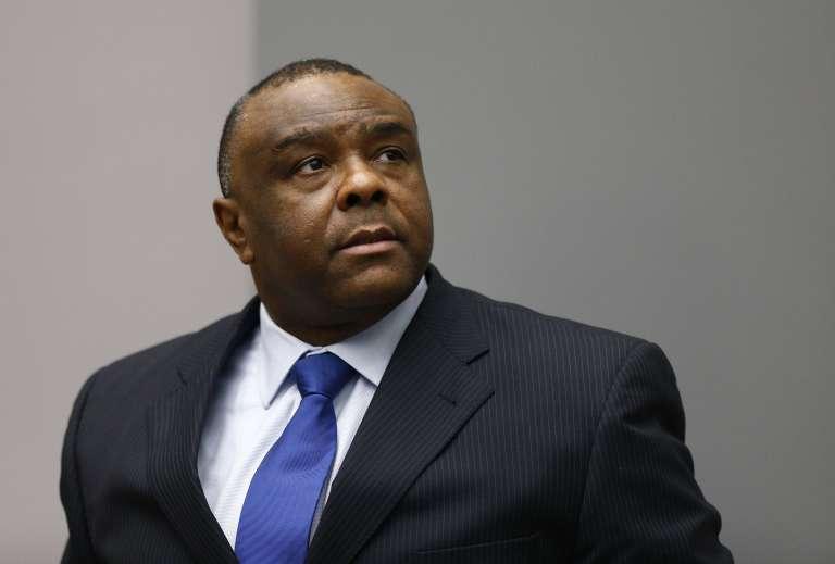 L'ex-vice-président de la République démocratique du CongoJean-Pierre Bemba,a la Cour pénale internationale (CPI), à La Haye (Pays-Bas), le 21 juin.