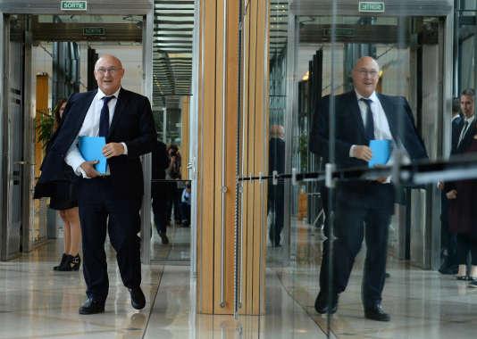 Le ministre des finances Michel Sapin.