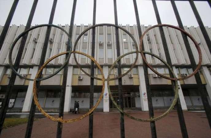 Le siège du Comité olympique russe à Moscou, le 10 novembre 2015.