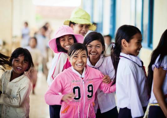 Des jeunes filles au Vietnam.
