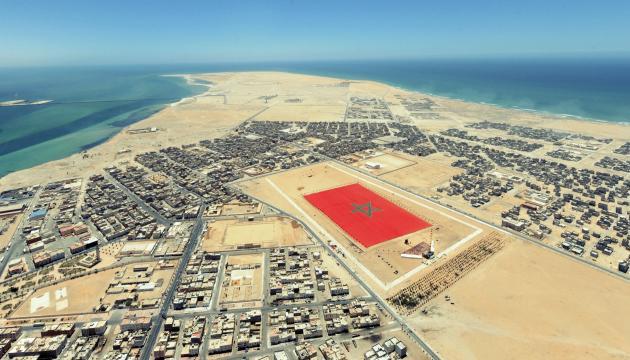 Un drapeau marocain a été déployé en 2010, à Dakhla, sur une étendue de 6 hectares.