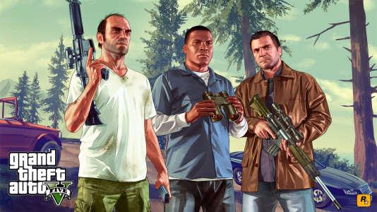 Trevor, Franklin et Michael, les trois personnages jouables de «GTA V».