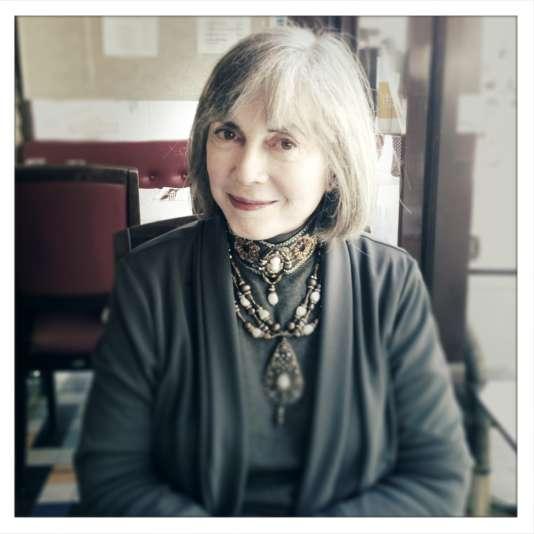 L'auteure américaine Anne Rice, chez elle en Californie, en 2012.