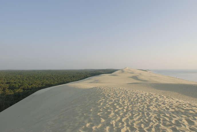 La dune du Pilat, si inhospitalière et si prisée.