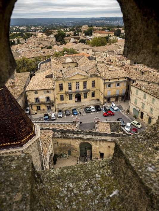 Vue sur la ville depuis la tour du duché.