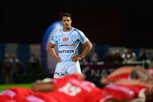 Dan Carter of Racing 92 during the French Top 14 match between Racing 92 and Stade Toulousain on September 4, 2016 in Paris, France. (Photo by Dave Winter/Icon Sport)