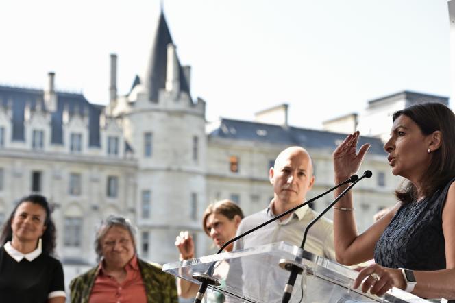 Anne Hidalgo, à Paris, le 14 septembre.