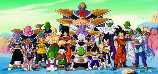 Dragon ball z dessin animé