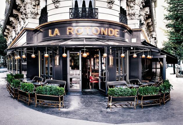 La Rotonde de la Muette, modernisée par le duo américain Roman and Williams.