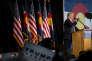 Donald Trump en meeting à Colorado Springs (Colorado) le 18 octobre 2016.