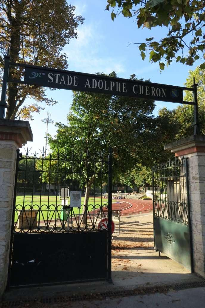 Le stade Adolphe-Chéron et sa légendaire piste d'athlétisme, à Saint- Maur, le 27 septembre.