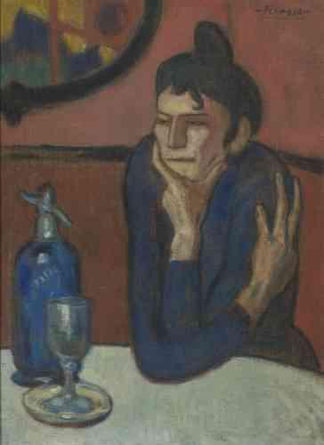 Au total, la collection compte cinquante Picasso, dont «La Buveuse d'absinthe», vingt-deux Matisse et seize Gauguin.