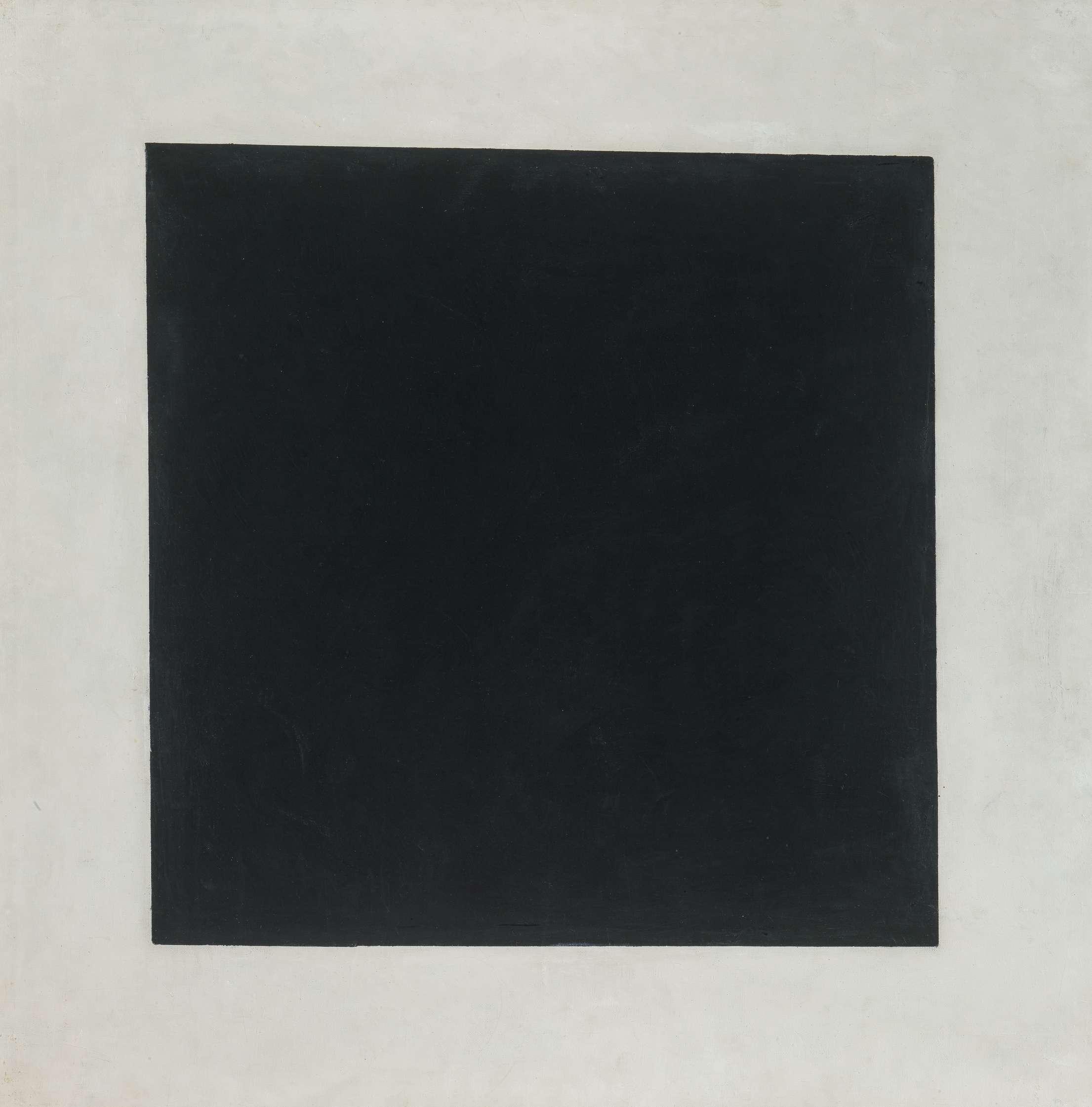 Des œuvres exceptionnelles sont ainsi réunies, comme «Le Carré noir», de Malevitch.